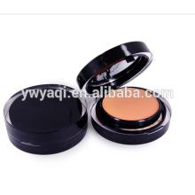 OEM gros tour package cas cosmétiques poudre compacte