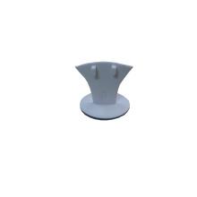 White PU Bijoux en bois Pendentif Ring Box Holder Stand (BT-R2)