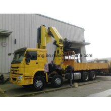 XCMG 25 Ton Folding Boom Truck Mounted Crane for Container