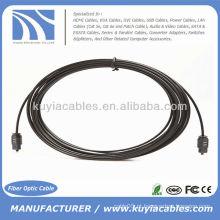 Cabo óptico OD da fibra de Digitas de 33ft OD 2.2mm