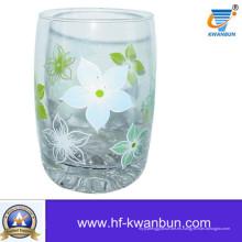 Caliente vendiendo calcomanía completa vaso de cristal de la Copa de vajilla (KB-HN0403)
