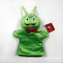 plush cartoon animal hand puppet