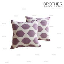 Customized 18 inch Cover Sofa Decorative Linen Throw Pillow