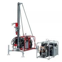 Hard rock drill man portable DTH drilling rig machine