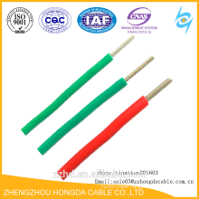 Solid Aluminum Core Green Yellow Ground Wire