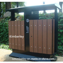 Cheap, Environment-Protecting Wood Plastic Composite WPC Trash Can