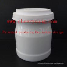 Taza de porcelana de la leche