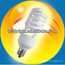 energiesparende Lampe Halbspirale 12mm 8000H CE Qualität
