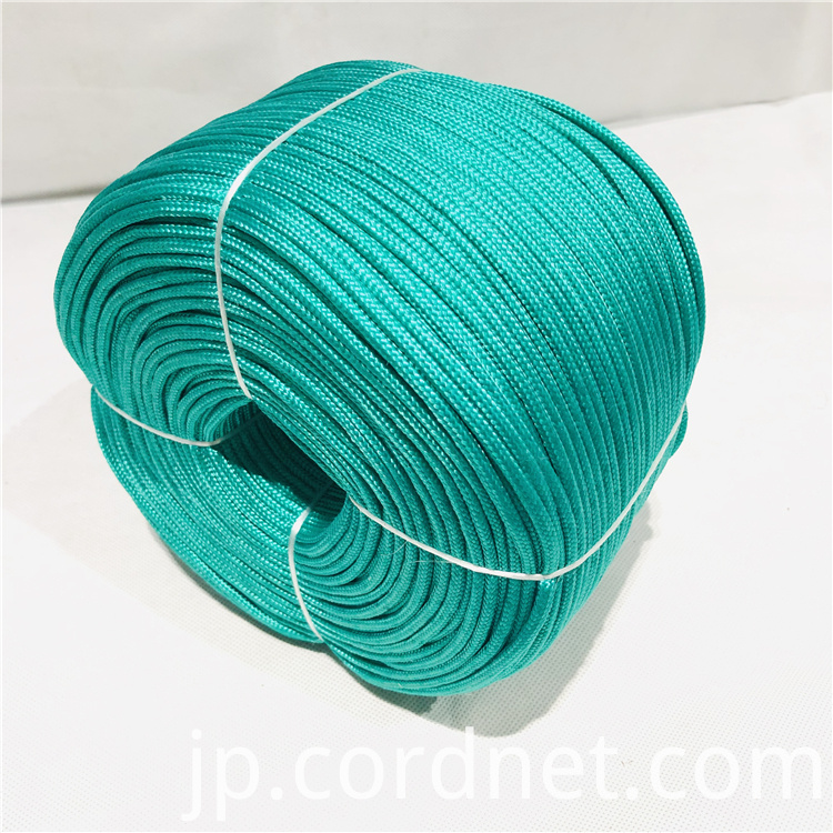 Green Pp Multi Braided Rope 3