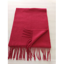 mezclar 50% de lana de cachemira 50% de lana lisa azul violeta bufanda