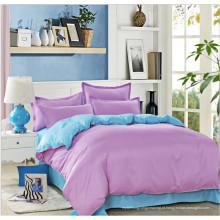 Folha de cama de cor para uso doméstico jogo de cama dom
