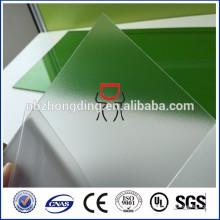 Tissu en polycarbonate de sécurité avec coin rond
