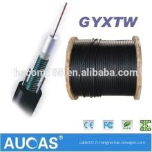 Bonne capacité de traction Câble à fibre optique monomode