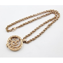 New Arrival Rose Gold Stainless Steel Memory Locket Necklace