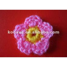Аксессуары для одежды вязание крючком цветок