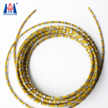 High Efficiency Diamond Plastic Coating Wire Saw for Stone Profiling
