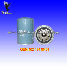 Oil Filter 102 184 00 01 For BMW (82-94), Mercedes-Benz (85-93)