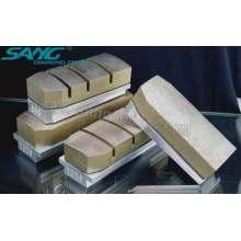 Abrasifs de polissage de granit de granit de qualité, Diamant Fickert