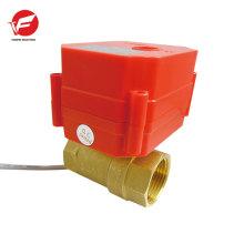 Hecho en China agua apagada control de flujo de válvula automática