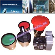 Boîte de contrôle des pièces de rechange pour ascenseur Ascenseur Barre de contrôle Boîte de jonction 4 boutons