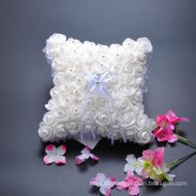 Hochzeitsfeier Blumen Dekoration Braut reinen Ring Träger Kissen