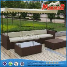Mobília do sofá do jardim do Rattan