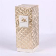 Emballage de boîte de papier de soin de peau de conception de luxe