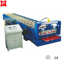 Steel Roof trapezoidal Panel roll forming machine