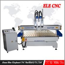 Machine à bois MDF / PVC / PCB / sculpture acrylique Pneumatic CNC routeur