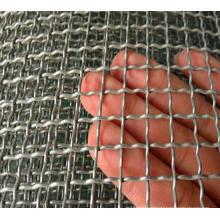 Mesh en acier inoxydable à maille moulée en maille tissée et en acier inoxydable