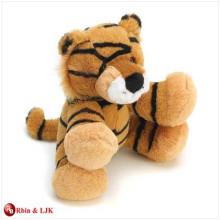 customized OEM design stuffed toy baby tiger plush