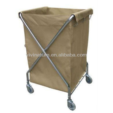 Hotel Laundry Hamper\Laundry Sorter Canvas Bags\Laundry Chart with wheels