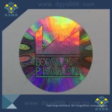 Kinetischer Effekt-Hologramm-Aufkleber des Effekt-3D