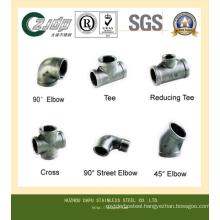 ASTM 316ti Stainless Steel Seamless Tee