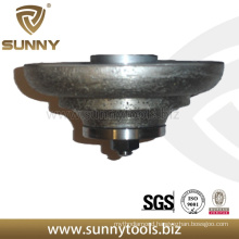 Sintered Continuous Stone Diamond Profiling Wheel for Grinding Machine