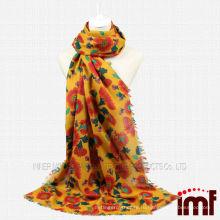 Шарф для Японии Sun Flower Wool Scarf
