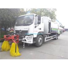 Limpieza de barandas de vehículos con supresión de polvo multifunción