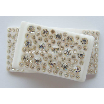 Unique Acrylic Rhinestone Buckle