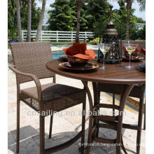 Hot sale Outdoor All Weather bar table and chair set