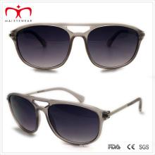 Plastic Men′s Sunglasses with Metal Temple (WSP508289)