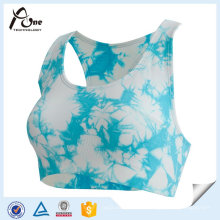 Sexy Mode Active Wear Sublimation gedruckt Custom Sport BH