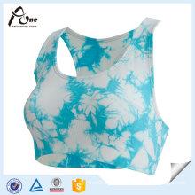 Sexy Fashion Active Wear Sublimation Printed Custom Sports Bra