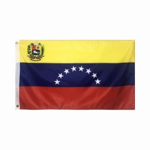 Gedruckte Polyester Venezuela Flagge Nationalflagge 3x5