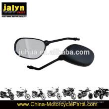 Espelho retrovisor de motocicleta de 10 mm se encaixa para YAMAHA Ybr125