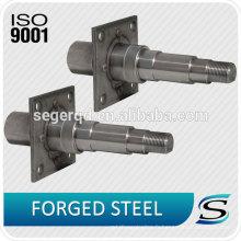 TS16949 Axe de chute d'axe de forgeage