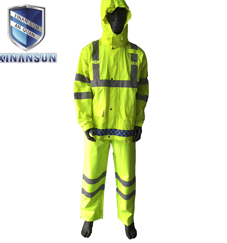 roadway security reflective clothing