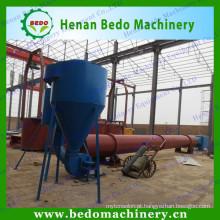 Tipo de fluxo de ar secador de madeira da serragem da máquina de secagem de madeira do pó da China fornecedor