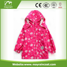 Pink Kids PU Imperméable