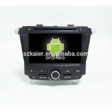 ¡CALIENTE! DVD del coche con enlace espejo / DVR / TPMS / OBD2 para pantalla táctil completa de 8 pulgadas 4.4 sistema Android Roewe 350