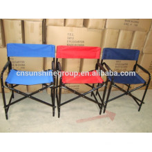 2015 hot sale folding metal frame director chair or sport chair.